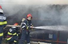 incendiu pompieri Fântânele, Prahova