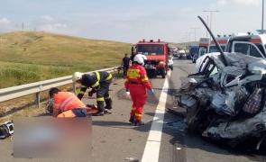 accident autostrada a 10