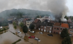 inundatii incendii Belgia