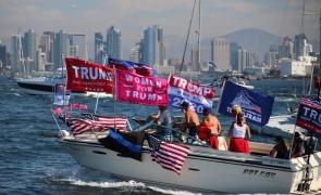 barca trump sustinatori