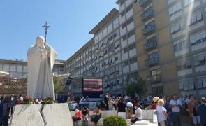 Statuia Sfântului Ioan Paul al II-lea