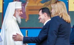 Patriarhul Daniel, Ludovic Orban