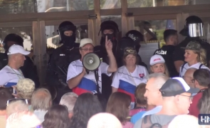 slovacia protest