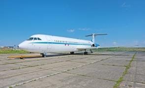 avion prezidential ceausescu