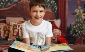 baiat copil carte craciun cadouri