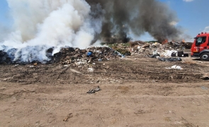 incendiu de vegetatie si gunoi