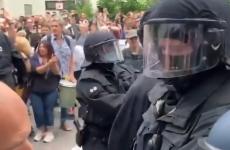 Proteste anti restricții. Berlin, 1 august 2021