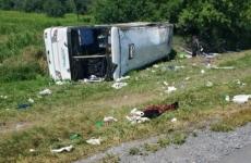 autocar accident Ungaria