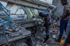 Haiti daramaturi cladiri prabusite dărâmături