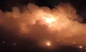 incendiu groapa de gunoi fum