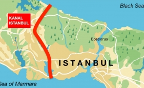 Canalul Istanbul bosfor
