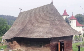 Biserica din lemn de la Putna