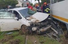 accident tramvai masina