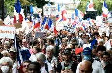franta protest paris manifestanti