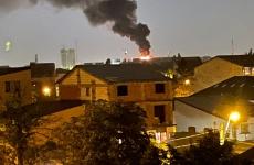incendiu la un bloc capitala