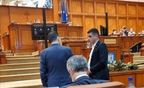 Ludovic Orban discuta cu George Simion