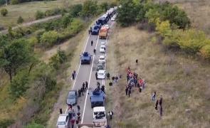 blocaj drum kosovo