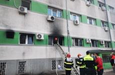 spital, incendiu, constanța