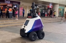robot, singapore