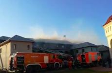 incendiu manastire Agigea