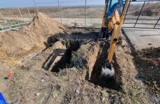 cimitir gropi excavator