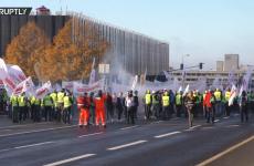 protest mineri luxemburg