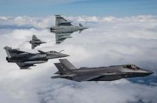 avioane militare Mirage 2000, Rafale, F-35, EuroFighters
